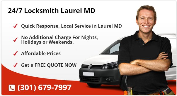 24 Hour Locksmith Laurel MD